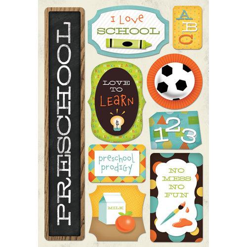 Karen Foster Design - School Collection - Cardstock Stickers - I Am In Preschool