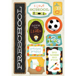 Karen Foster Design - School Collection - Cardstock Stickers - I Am In Preschool