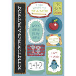 Karen Foster Design - School Collection - Cardstock Stickers - I Am In Kindergarten