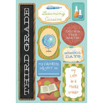 Karen Foster Design - School Collection - Cardstock Stickers - I Am In Third Grade
