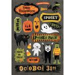 Karen Foster Design - Halloween Collection - Cardstock Stickers - Boo