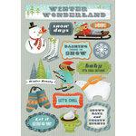 Karen Foster Design - Winter Collection - Cardstock Stickers - Winter Wonderland