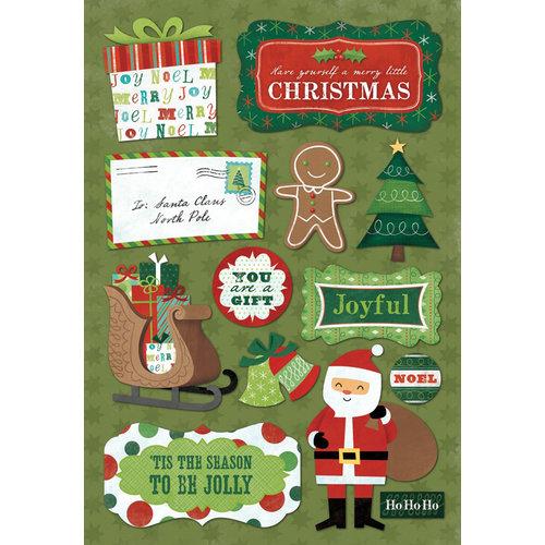 Karen Foster Design - Christmas Collection - Cardstock Stickers - Tis The Season