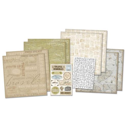 Karen Foster Design - Scrapbook Kit - Adventure Awaits