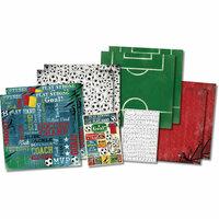 Karen Foster Design - Soccer Collection - Scrapbook Kit - Soccer Champ
