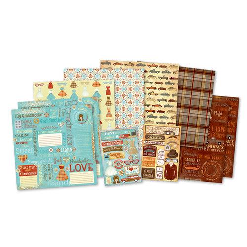 Karen Foster Design - Scrapbook Kit - Classic Grandparents