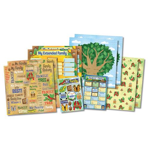 Karen Foster Design - Kid's Ancestry Collection - Scrapbook Kit - Kid's Ancestry