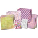 Karen Foster Design - Scrapbook Kit - It's-A-Girl