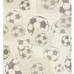 Karen Foster Patterned Paper - Soccer Ball Collage