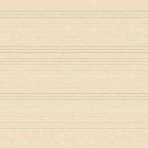 Karen Foster Patterned Paper - Writing Paper