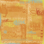 Karen Foster Design - Cool Cat Collection - Patterned Paper - Cat Collage