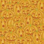Karen Foster Design - Halloween Collection - Patterned Paper - Stacks of Jacks