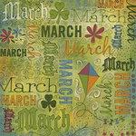 Karen Foster Design - Calendar Creations - Doodle - March