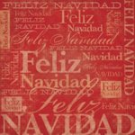 Karen Foster Design - Spanish Momentos Collection - Paper - Red Christmas - Feliz Navidad, CLEARANCE