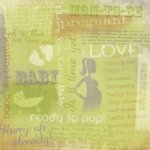 Karen Foster Design - Paper - Maternity - Pregnancy Collection - Mom To Be