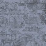 Karen Foster Design - Outdoors Collection - 12x12 Paper - Wildlife Collage