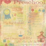 Karen Foster Design - Preschool Playtime Collection - 12x12 Paper - Preschool Collage
