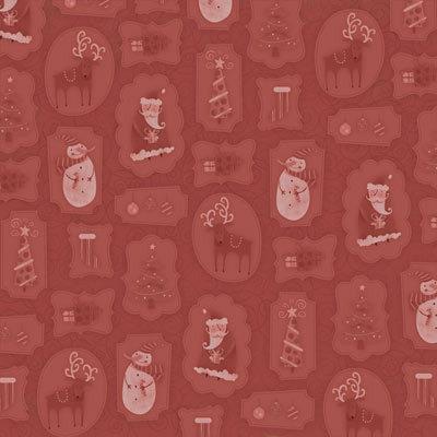 Karen Foster Design - Christmas Collection - 12x12 Paper - Christmas Spirit