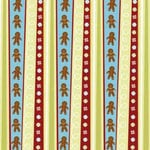 Karen Foster Design - Christmas Cooking Collection - 12 x 12 Paper - Christmas Cooking Stripes, CLEARANCE