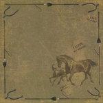 Karen Foster Design - Equestrian Collection - 12 x 12 Paper - I Love My Horse