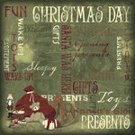 Karen Foster Design - Christmas Collection - 12 x 12 Paper - Present Collage