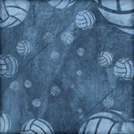 Karen Foster Design - Volleyball Collection - 12 x 12 Paper - Dig It