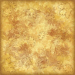 Karen Foster Design - Autumn Collection - 12 x 12 Paper - Amber Leaves
