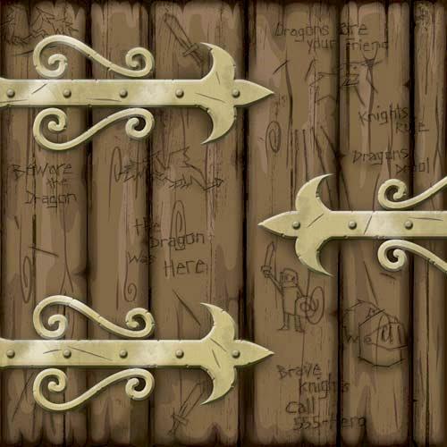 Karen Foster Design - Dragon Collection - 12 x 12 Paper - Dragons Gate
