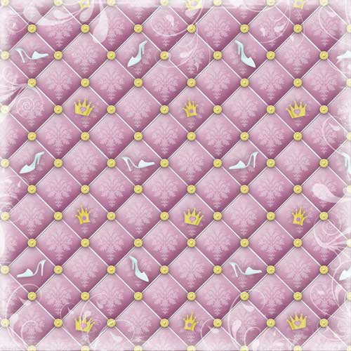 Karen Foster Design - Princess Collection - 12 x 12 Paper - Princess Dreams