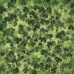 Karen Foster Design - St. Patricks Day Collection - 12 x 12 Paper - Shamrocks