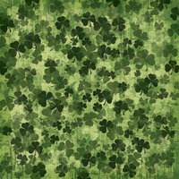 Karen Foster Design - St. Patricks Day Collection - 12 x 12 Paper - Shamrocks