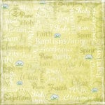 Karen Foster Design - Baptism Collection - 12 x 12 Paper - Baptism Day Collage