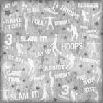 Karen Foster Design - Basketball Collection - 12 x 12 Paper - Rebound