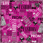 Karen Foster Design - Prom Collection - 12 x 12 Paper - Prom Chic Collage
