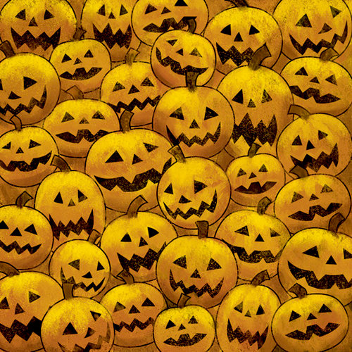 Karen Foster Design - Halloween Collection - 12 x 12 Paper - Pumpkins R Us