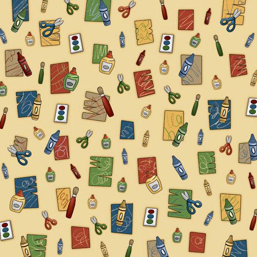 Karen Foster Design - Preschool Collection - 12 x 12 Paper - Art Time