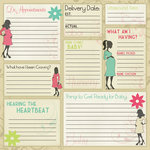 Karen Foster Design - Maternity Collection - 12 x 12 Paper - Maternity Memories
