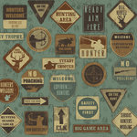 Karen Foster Design - Hunting Collection - 12 x 12 Paper - On The Hunt
