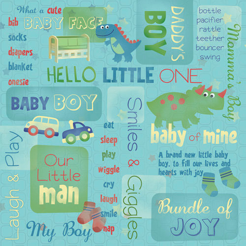 Karen Foster Design - 12 x 12 Paper - Bundle Of Joy Collage