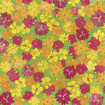 Karen Foster Design - 12 x 12 Paper - Tropical Flowers