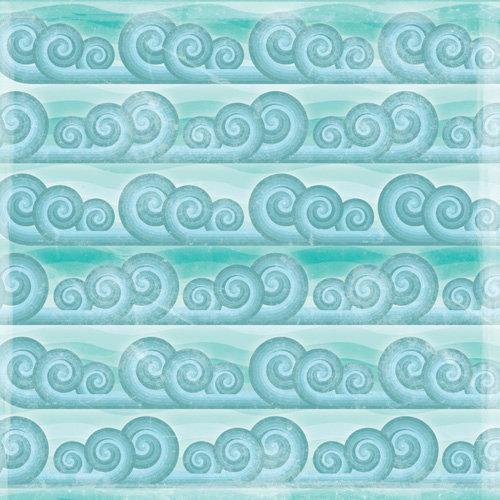 Karen Foster Design - 12 x 12 Paper - Catch A Wave