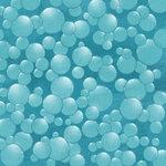 Karen Foster Design - Water Fun Collection - 12 x 12 Paper - Water Bubbles