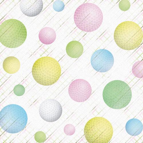 Karen Foster Design - Golf Collection - 12 x 12 Paper - Fore! Women's