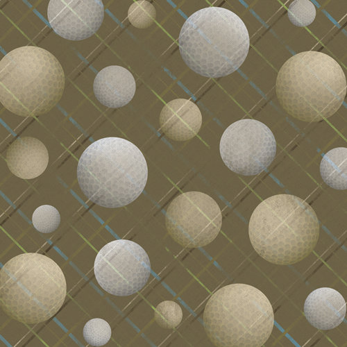 Karen Foster Design - Golf Collection - 12 x 12 Paper - Fore! Men's