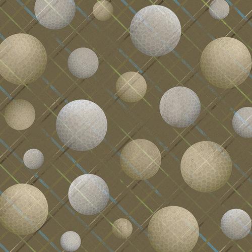 Karen Foster Design - Golf Collection - 12 x 12 Paper - Fore! Men's