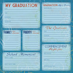 Karen Foster Design - Graduation Collection - 12 x 12 Paper - Graduation Journaling