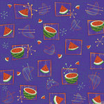 Karen Foster Design - Picnic Collection - 12 x 12 Paper - Watermelon Retro