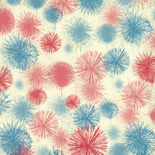 Karen Foster Design - Patriotic Collection - 12 x 12 Paper - Fireworks Finale