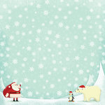 Karen Foster Design - Christmas Collection - 12 x 12 Paper - North Pole