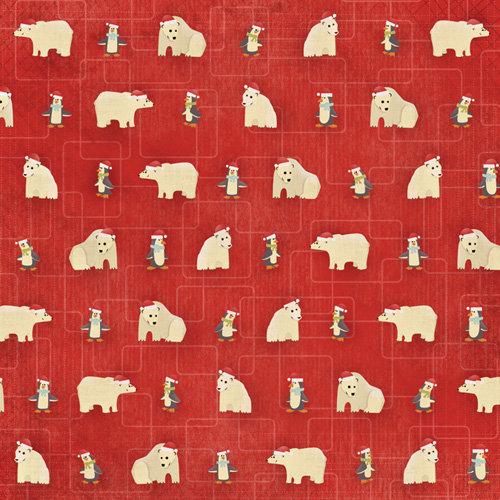 Karen Foster Design - Christmas Collection - 12 x 12 Paper - Christmas Critters